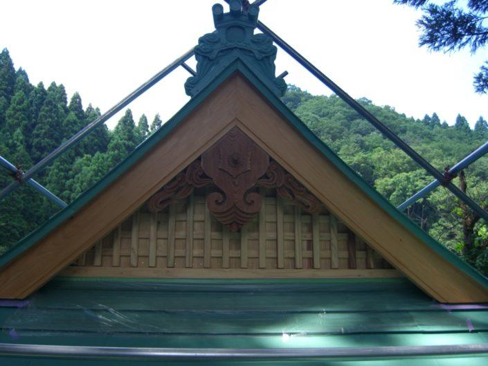 栃本神社(屋根修復・保全)